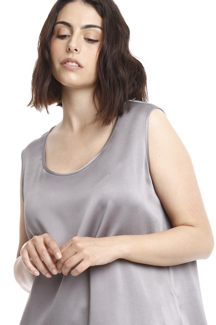 Top in crepe lucido Fashion Market