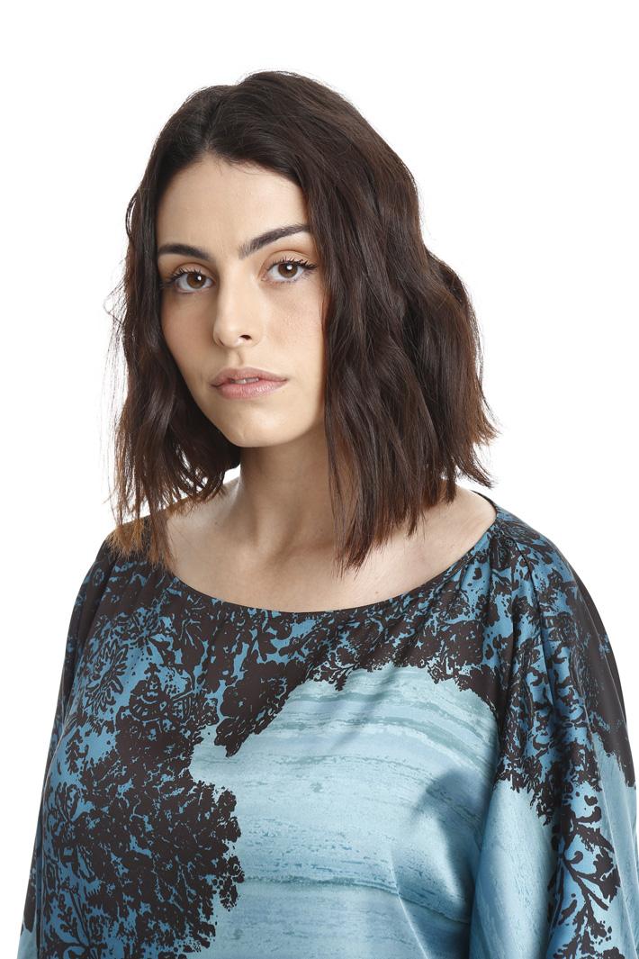 Casacca ampia in raso Fashion Market