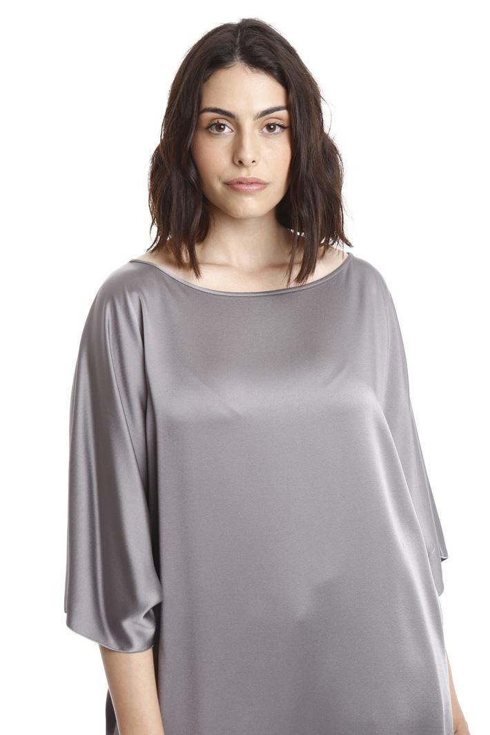 Casacca in tessuto lucido Fashion Market