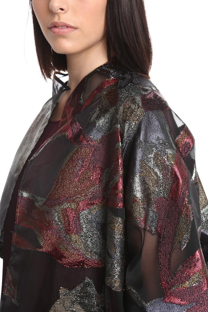 Casacca in fil coupé lurex Fashion Market