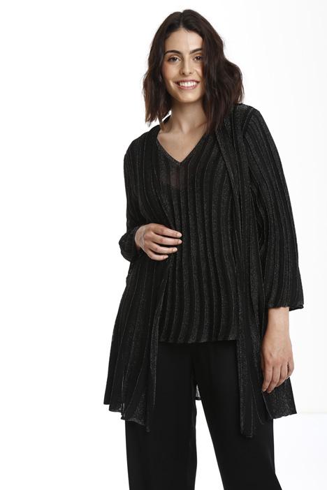 Cardigan lurex a costine Fashion Market
