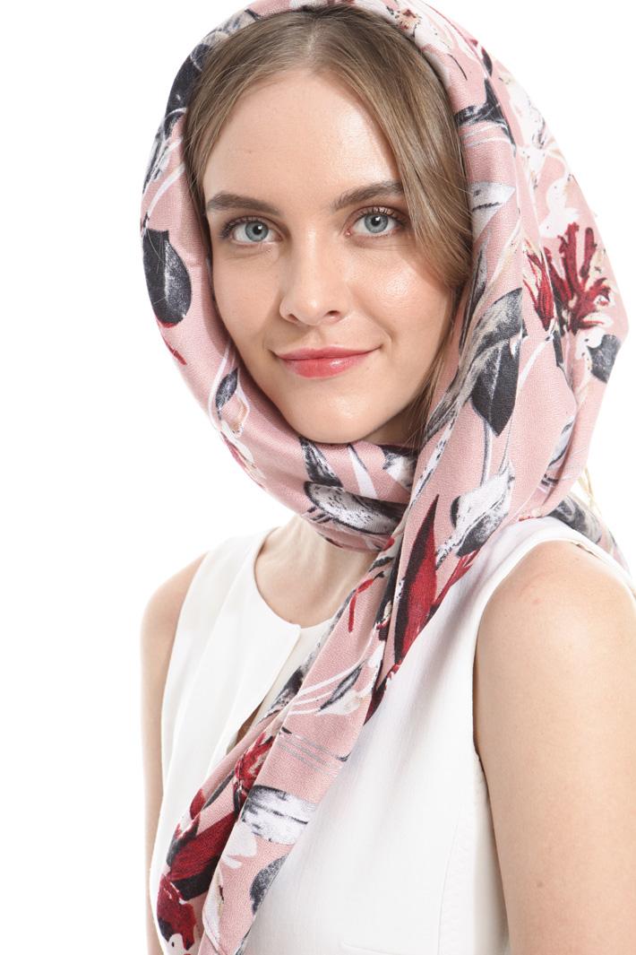 Sciarpa stampata Fashion Market