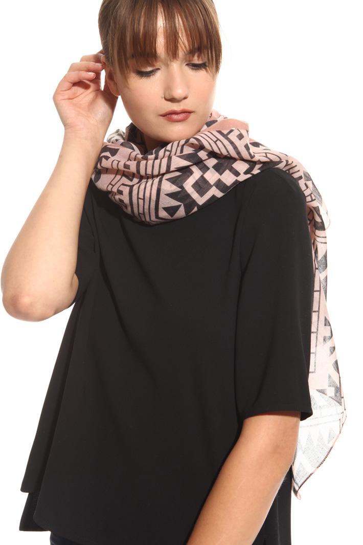 Sciarpa fantasia geometrica Fashion Market