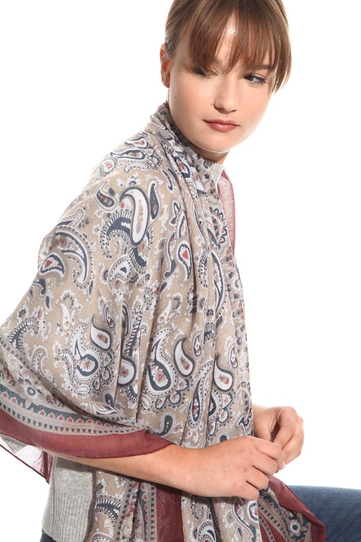 Sciarpa leggera a fantasia Fashion Market