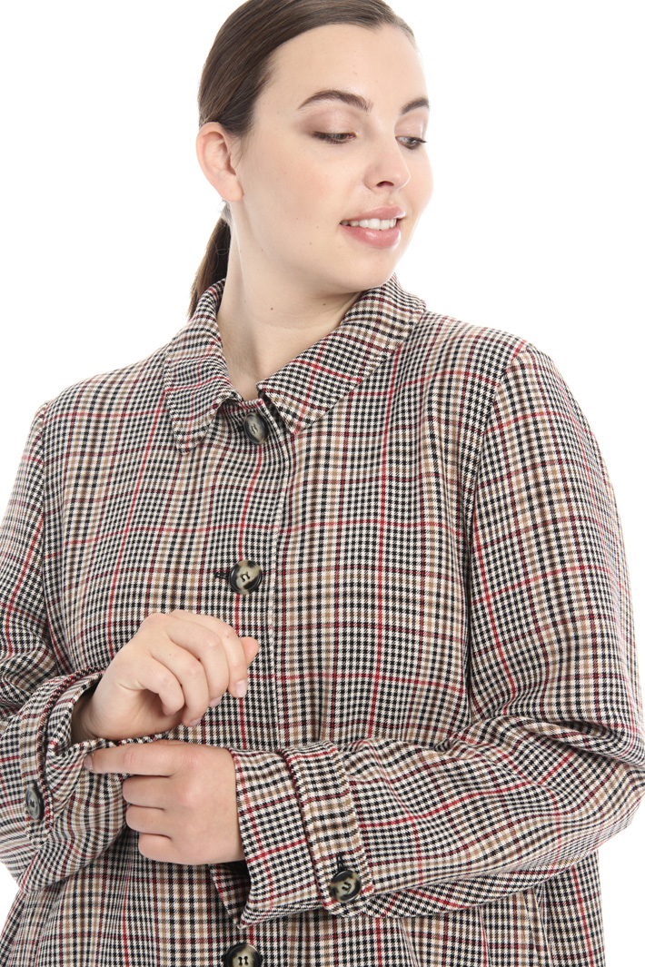 Giacca con colletto a camicia Fashion Market