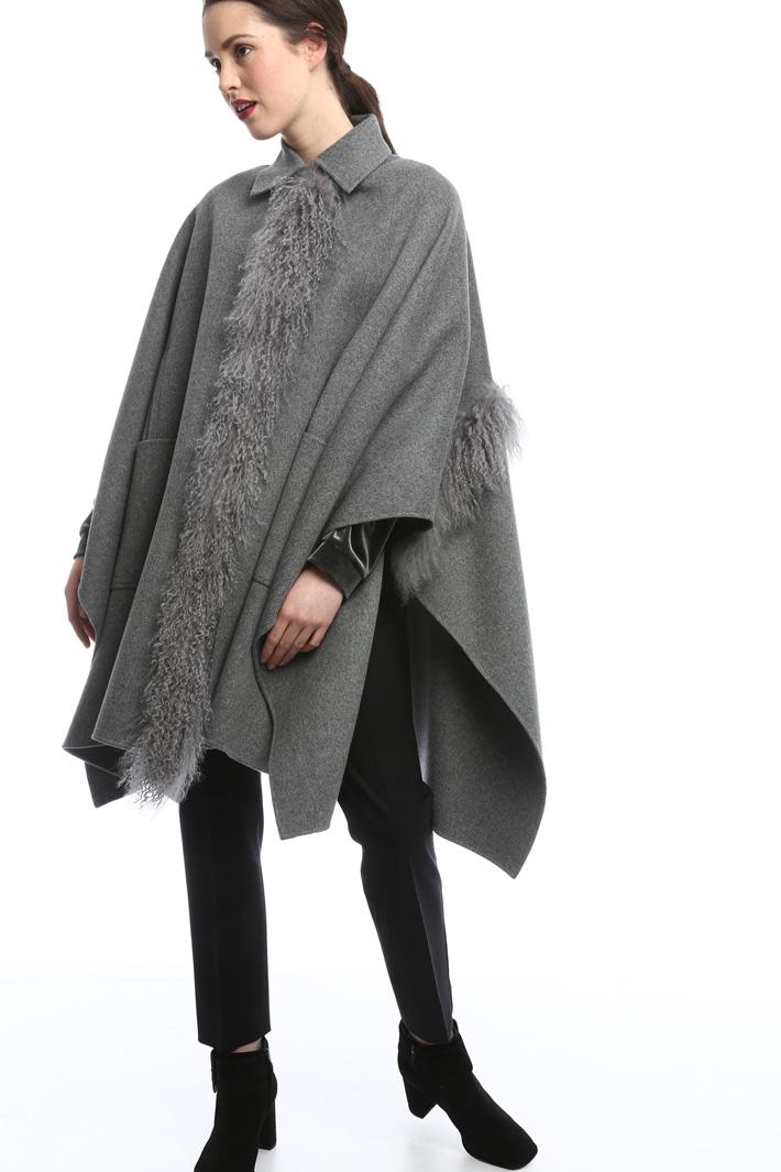 Mantello in double di lana  Fashion Market