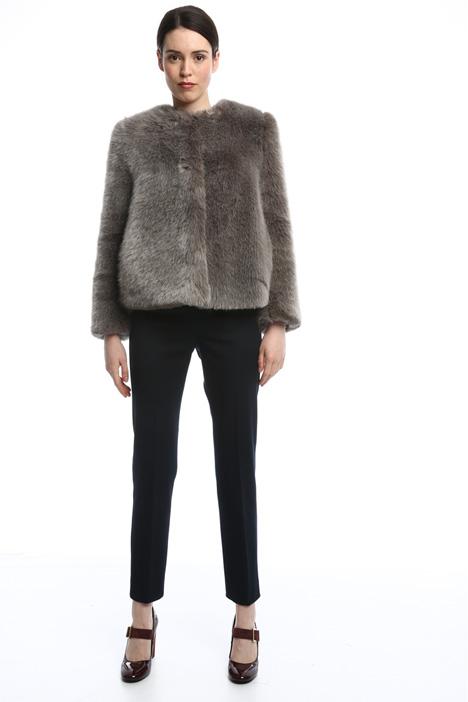 Capospalla effetto pelliccia Fashion Market