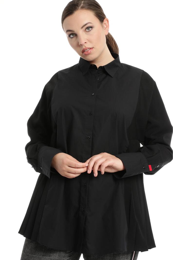 Camicia in popeline e crepe Fashion Market
