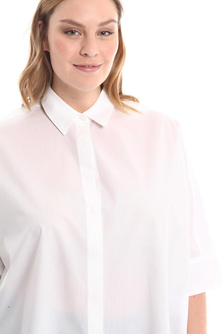 Camicia over in popeline Fashion Market