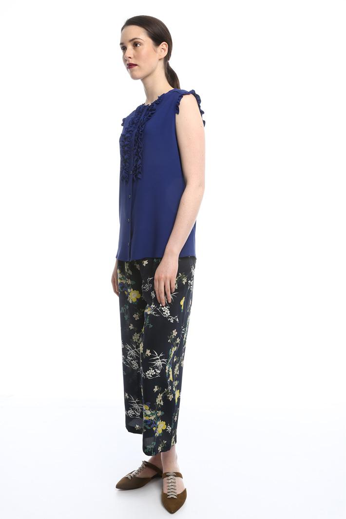 Camicetta con rouches Fashion Market