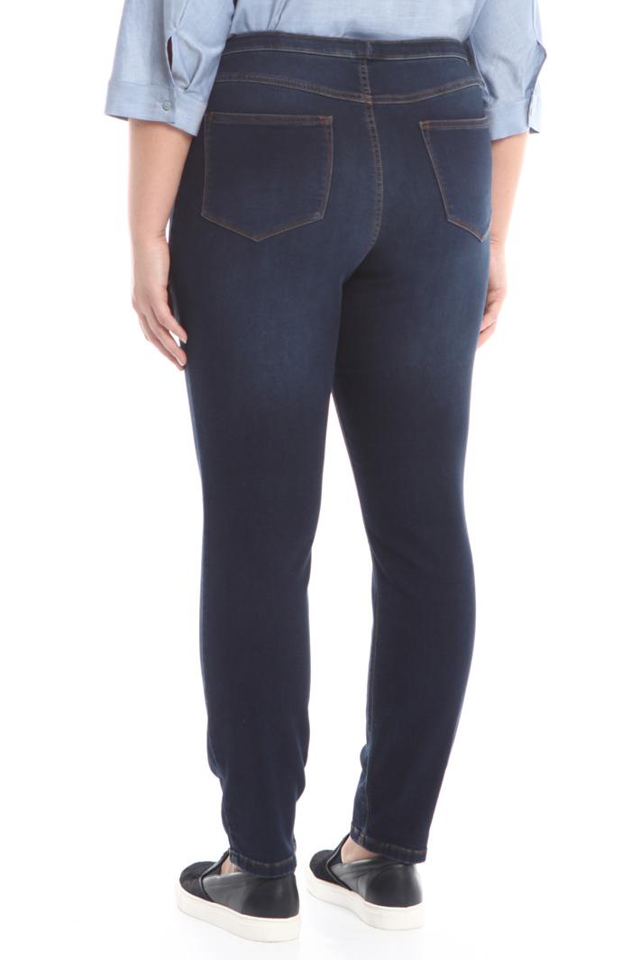 Leggings in denim stretch Fashion Market