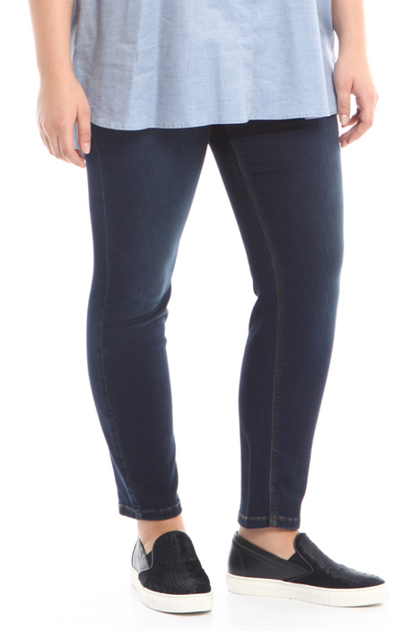 Leggings in denim stretch Fashion Market