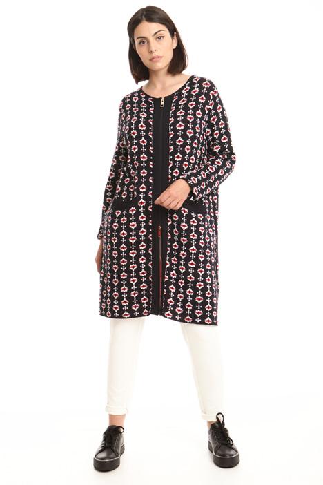 Capospalla in maglia con zip Fashion Market
