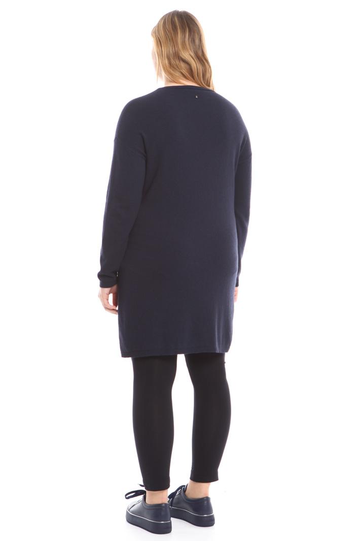 Abito corto in maglia Fashion Market