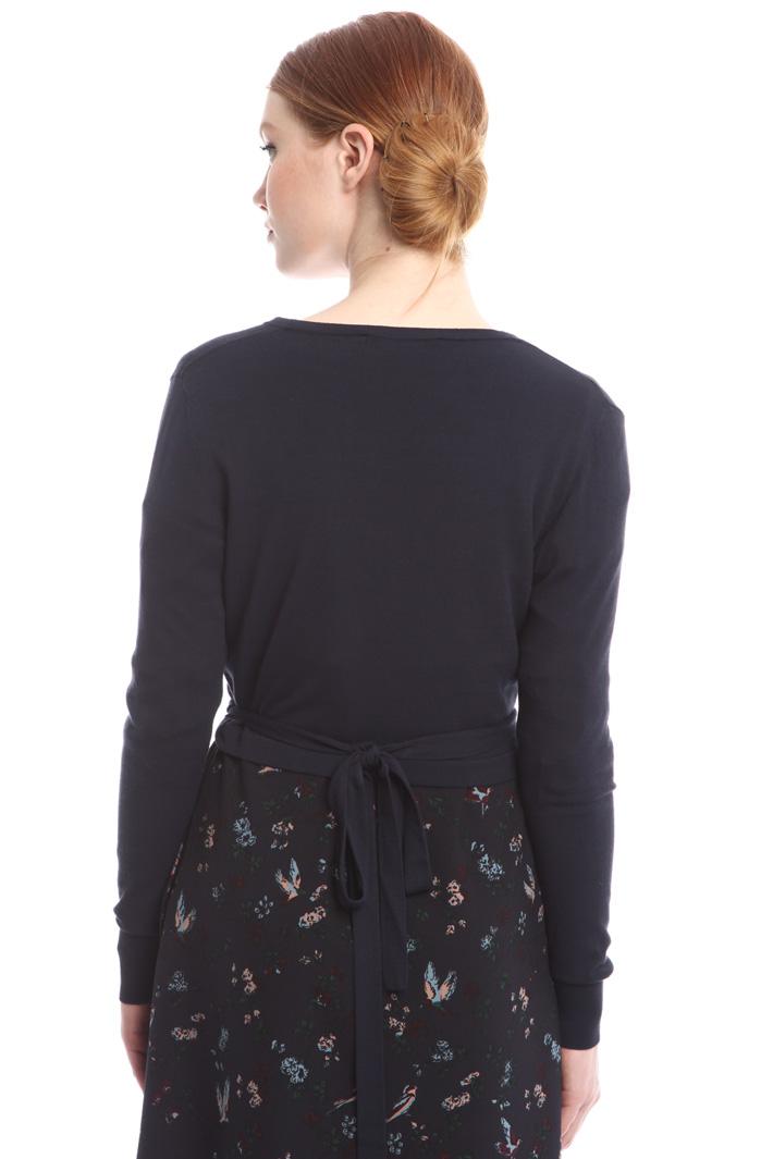 Cardigan a portafoglio Fashion Market