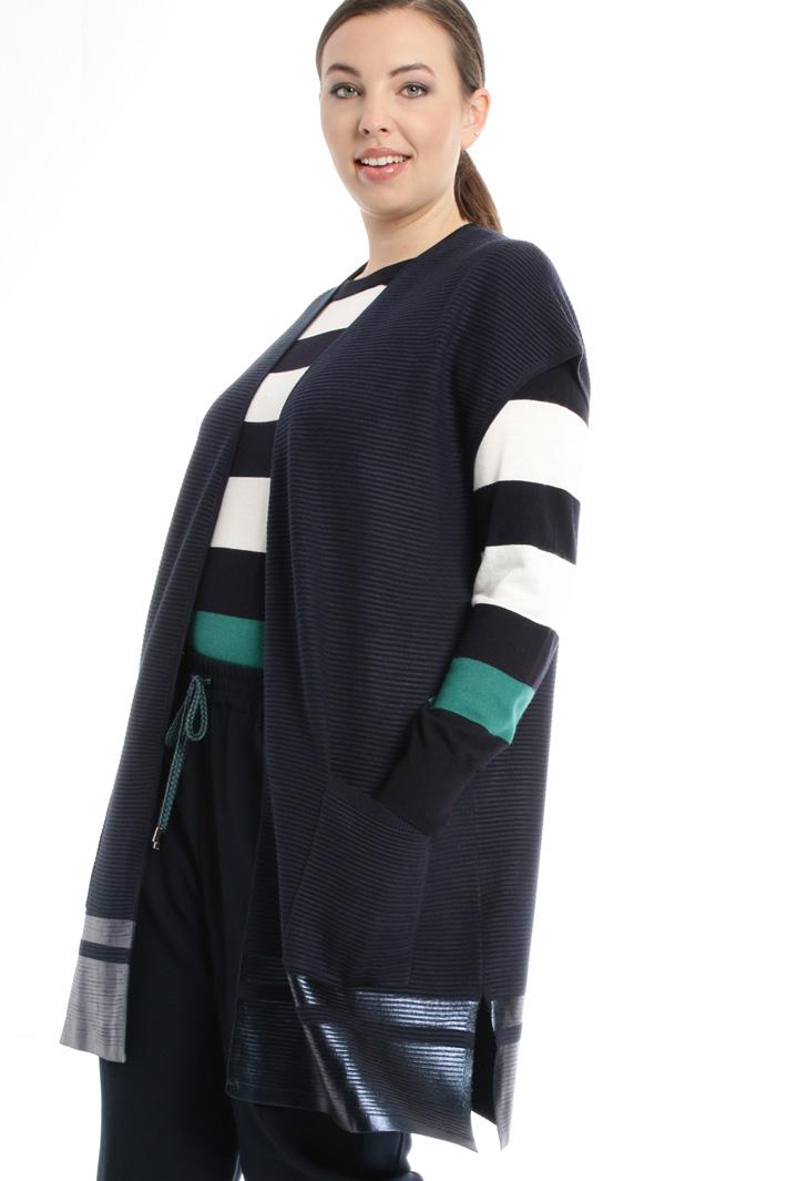Gilet con dettagli spalmati Fashion Market