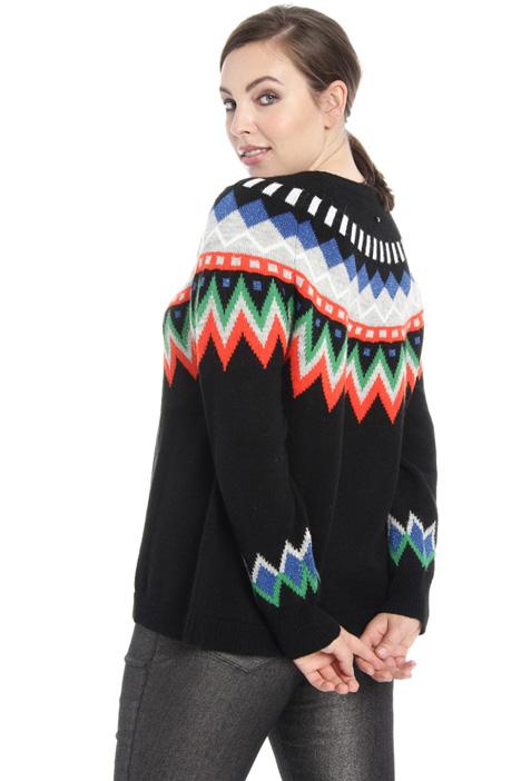 Maglia jacquard in alpaca Fashion Market