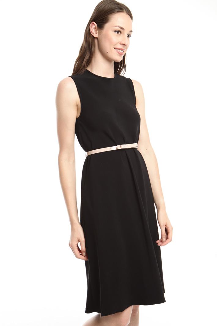 Cintura in vernice con fiocco Fashion Market