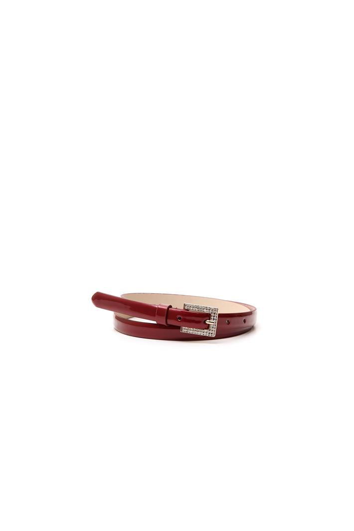 Cintura sottile con fibbia strass Fashion Market