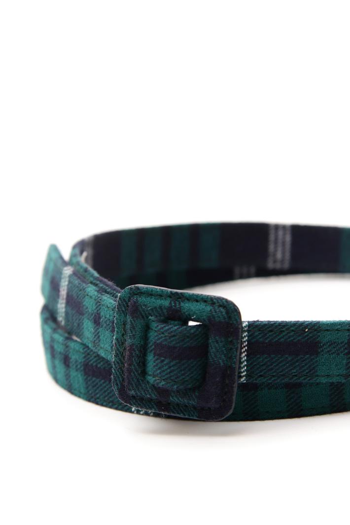 Cintura tessuto check Fashion Market