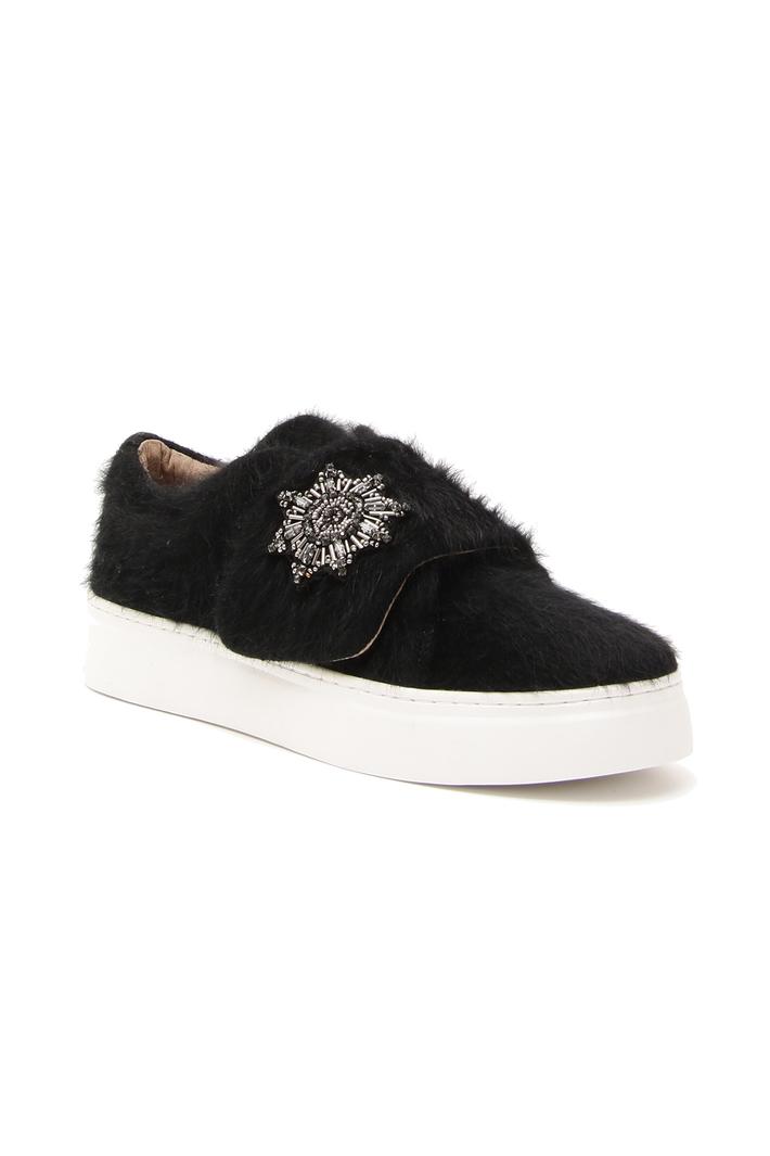 Sneackers rivestita in lana Fashion Market