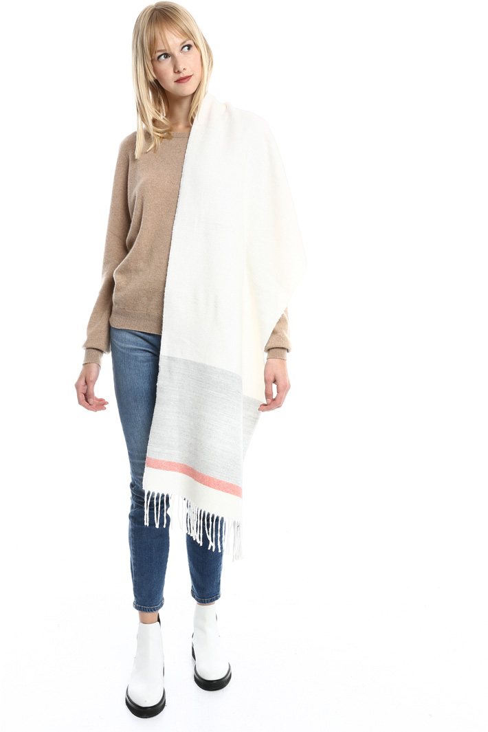 Sciarpa con frange Fashion Market