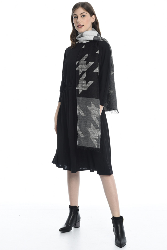 Sciarpa pied de poule Fashion Market