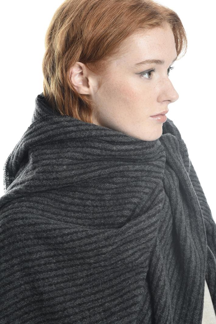 Sciarpa a righe in misto lana Fashion Market