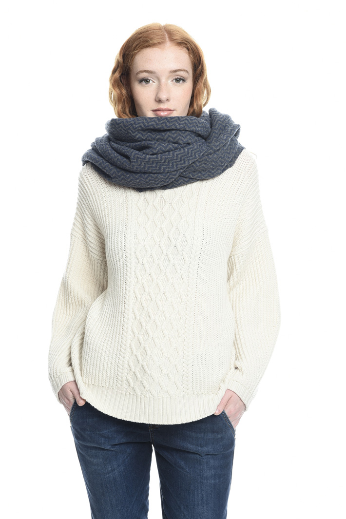 Sciarpa in lana chevron Fashion Market