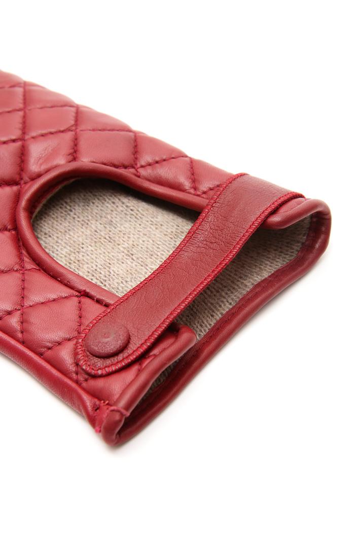 Guanti in pelle trapuntata Fashion Market