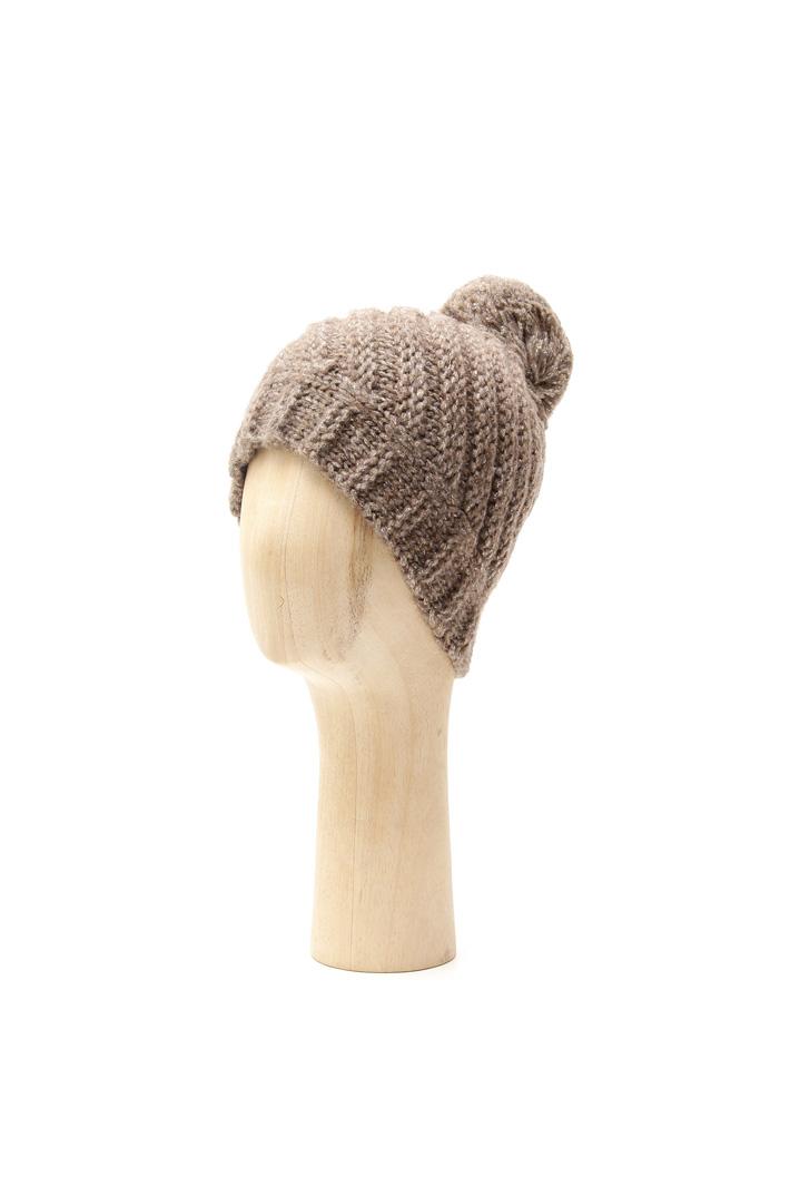 Berretto in lana con pon-pon Fashion Market