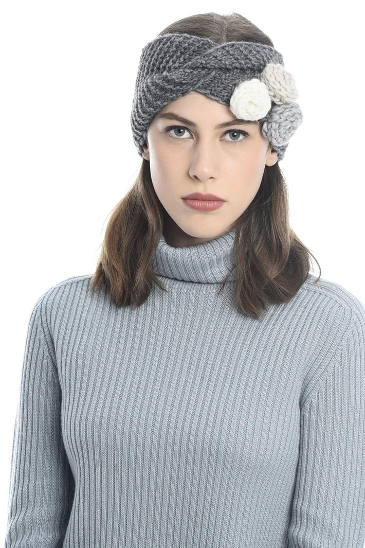 Fascia in maglia con fiori Fashion Market
