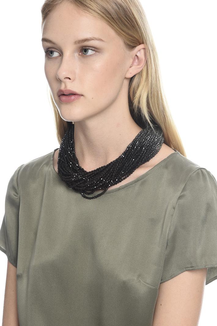 Collana multifilo opaca Fashion Market