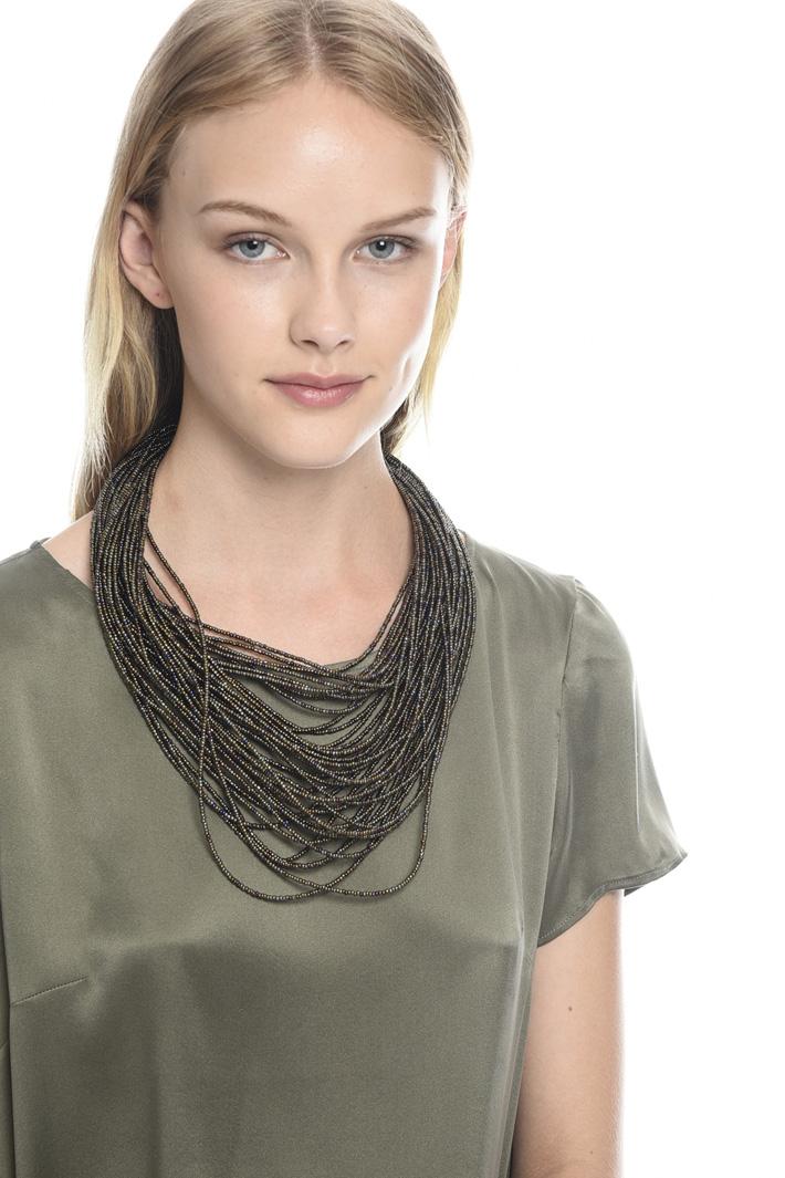 Collana multifilo in vetro Fashion Market