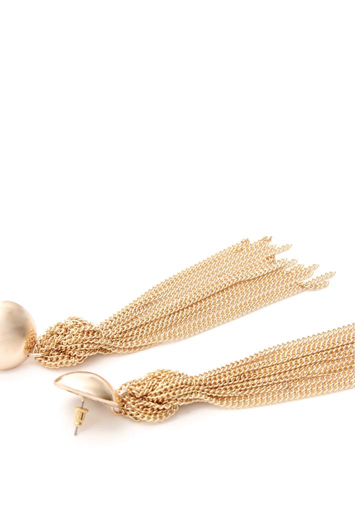Orecchini con fili in metallo Fashion Market