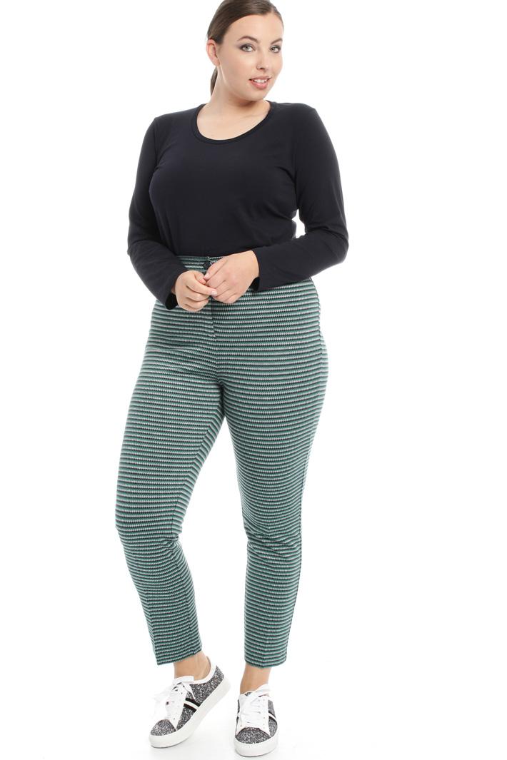 Pantaloni in jersey jacquard Fashion Market