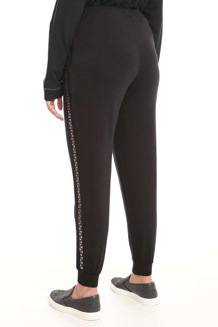 Pantalone jogging in jersey  Fashion Market
