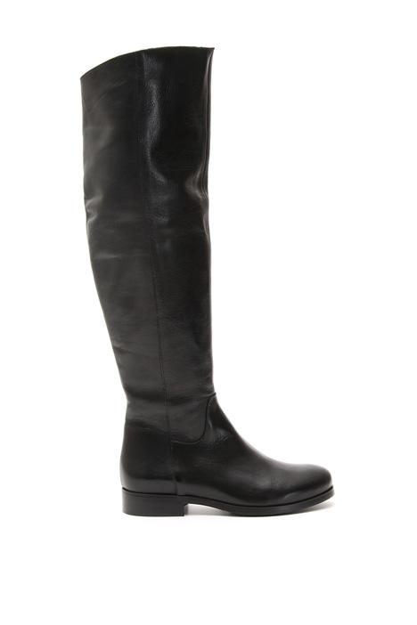 Stivali con gambale morbido Fashion Market