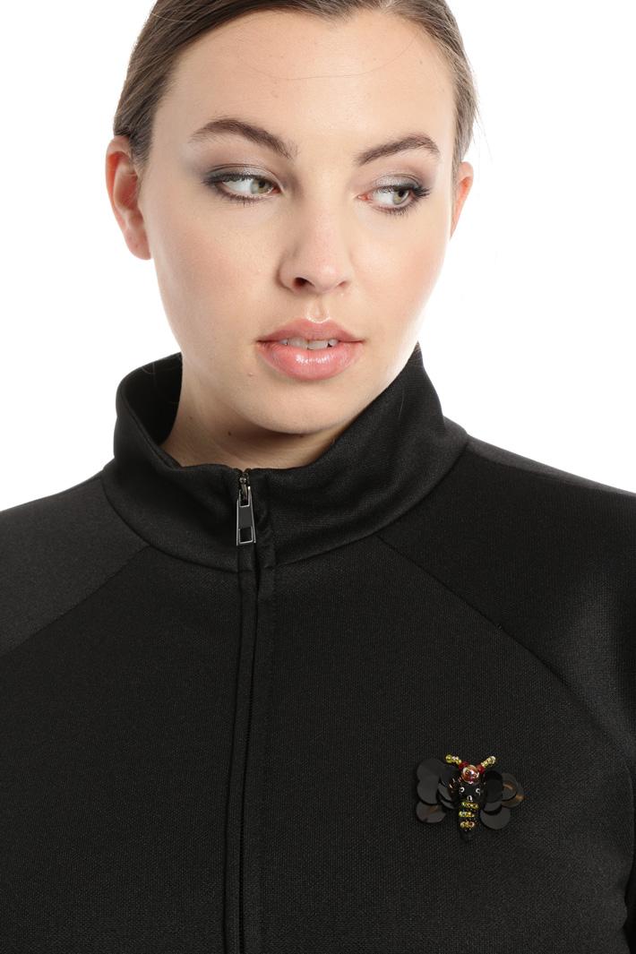 Felpa in jersey tecnico Fashion Market