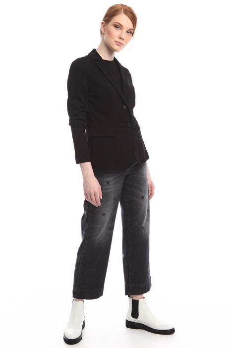 Blazer in jersey di viscosa Fashion Market