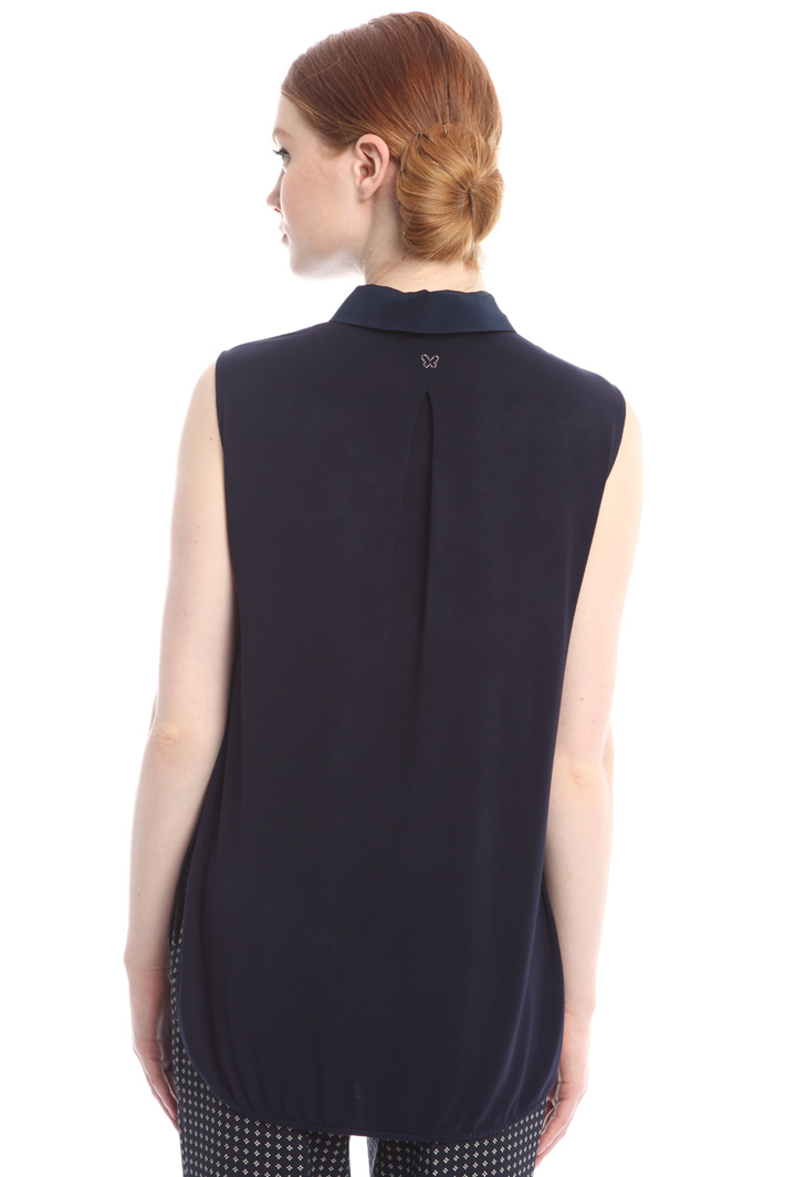Camicia in seta e jersey Fashion Market