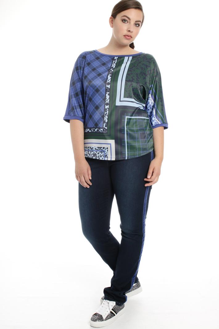 Top con maniche kimono Fashion Market