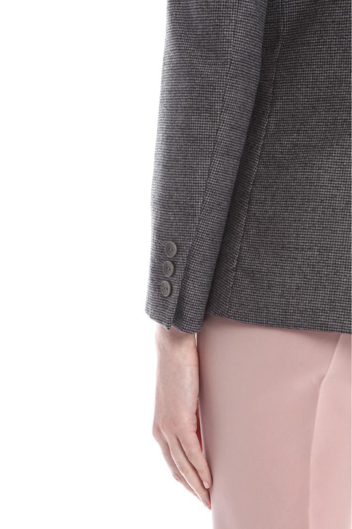 Blazer in flanella di lana Fashion Market