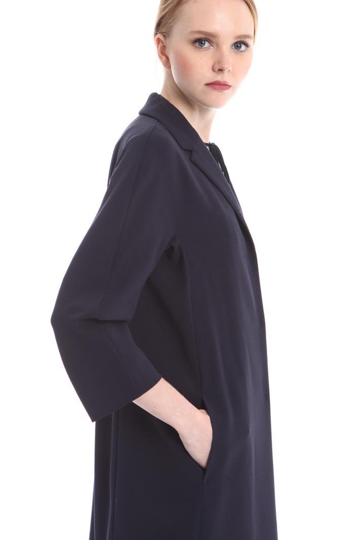 Capospalla in crepe di lana Fashion Market