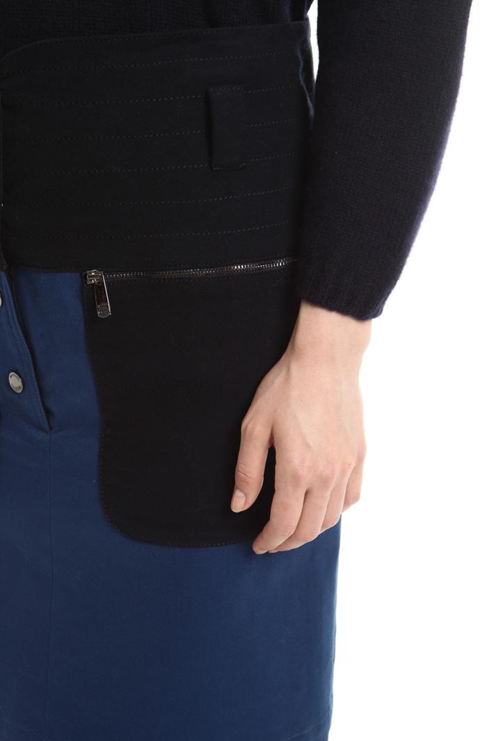 Minigonna con maxi tasche Fashion Market