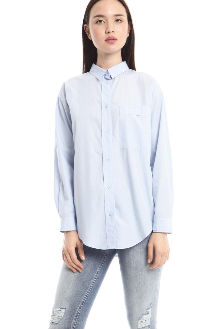 Camicia in popeline di cotone Fashion Market