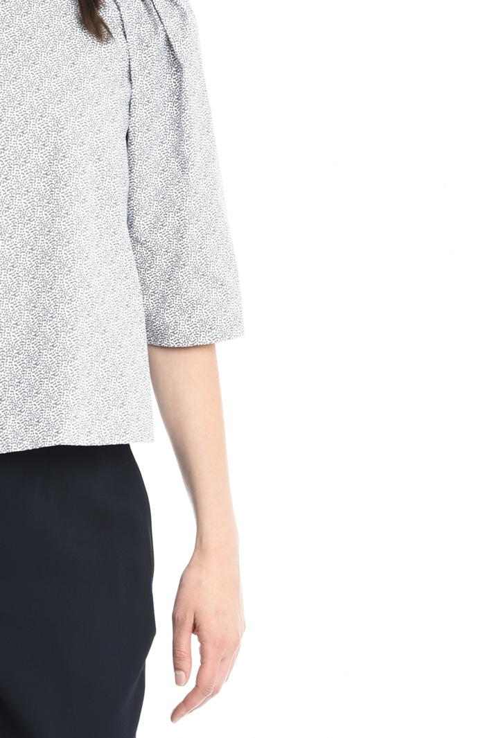 Blusa in popeline stretch Fashion Market
