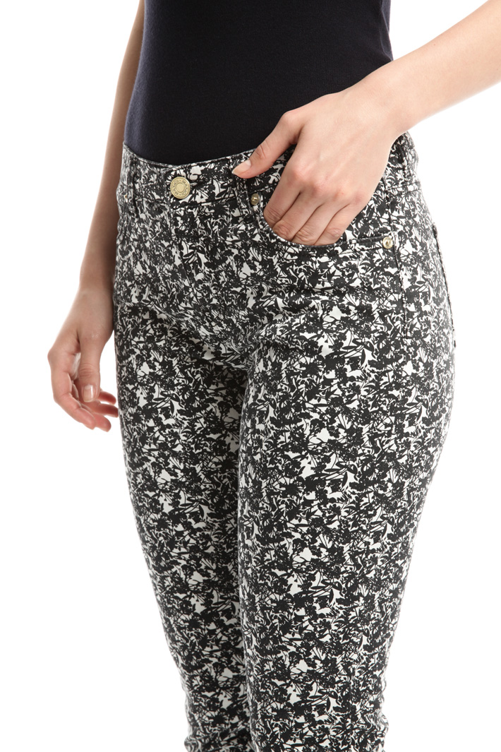 Pantaloni in raso di cotone Fashion Market