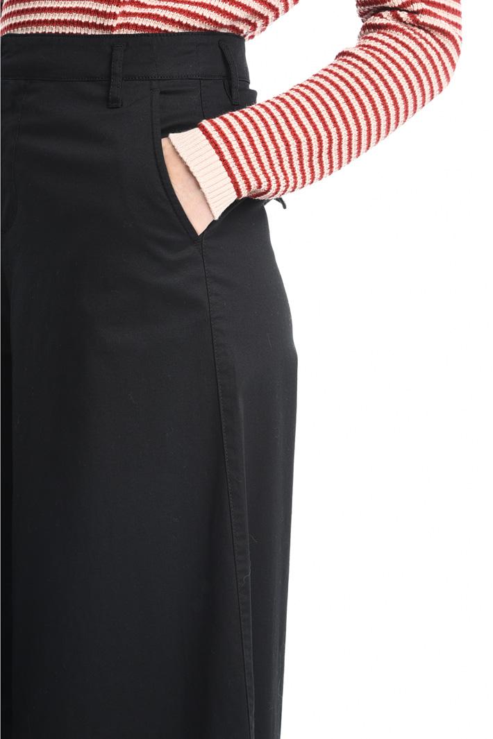 Pantaloni palazzo in cotone Fashion Market