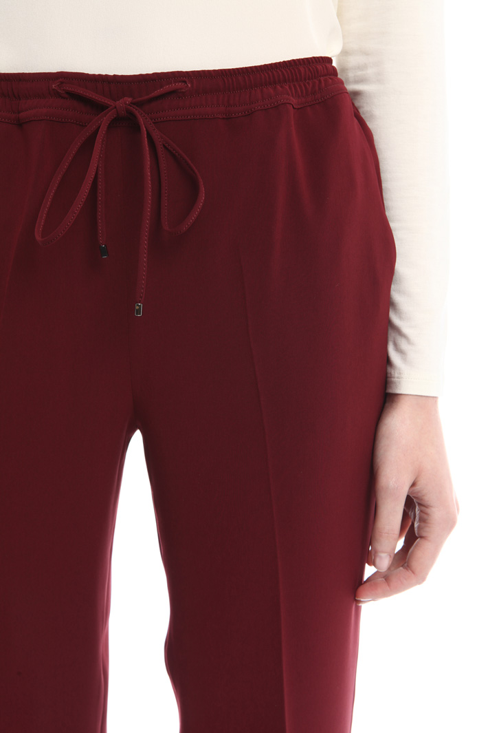 Pantaloni in cady con coulisse Fashion Market